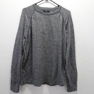 Men's Banana Republic Knit Sweater XL Gray Soft